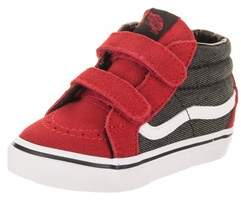 Vans Toddlers Sk8-mid Reissue V (suede/suiting) Skate Shoe.