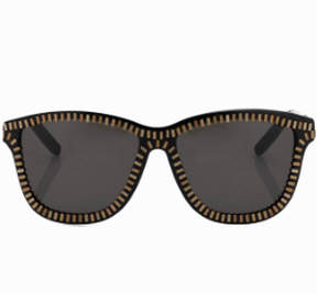Alexander Wang linda farrow x  Zipper Frame Sunglasses