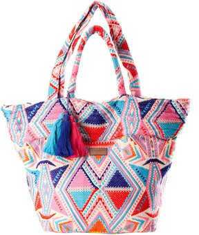 Seafolly Carried Away Neon Oversized Beach Bag 8158447