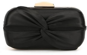 Kate Landry Knotted Satin Clutch