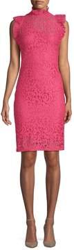 Alexia Admor Women's Ruffled Lace Sheath Dress