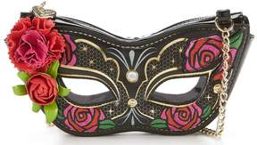 Betsey Johnson Guess Who Masquerade Cross-Body Bag
