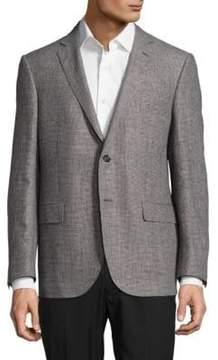 Corneliani Wool-Blend Houndstooth Sportcoat