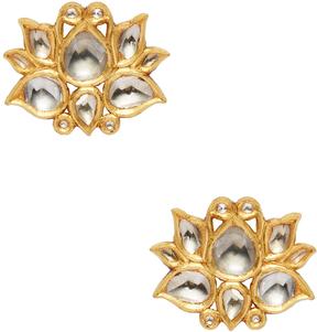 Amrapali Women's 22K Yellow Gold & 1.74 Total Ct. Diamond Stud Earrings