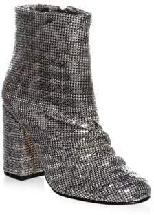 Schutz Taise Metallic Booties
