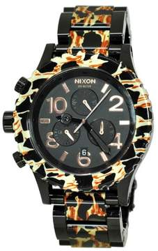 Nixon 42-20 Chrono A037 All Black/Leopard