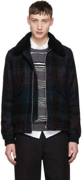 Paul Smith Black Buffalo Check Jacket