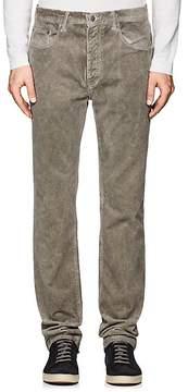 Massimo Alba Men's Velvet Straight Jeans