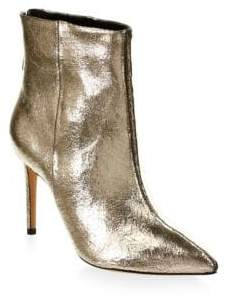 Schutz Ginny Leather Booties