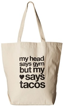 Dogeared - My Head Says Gym Tote Tote Handbags
