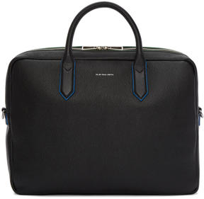 Paul Smith Black Leather Folio Briefcase