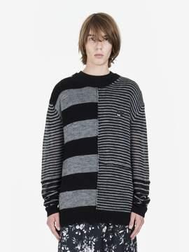 McQ Mismatched Stripe Sweater
