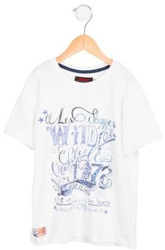 Catimini Boys' Short Sleeve Graphic Shirt