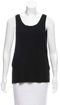 Anthony Vaccarello Sleeveless Scoop Neck Top w/ Tags