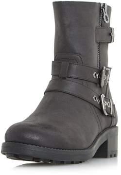 Head Over Heels *Head Over Heels by Dune Black Rochel Flat Boots