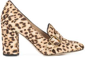 Sam Edelman leopard-print heeled loafers