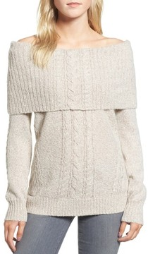 Chelsea28 Women's Off The Shoulder Sweater