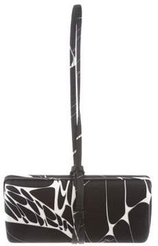 Emilio Pucci Printed Satin Evening Bag