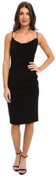Laundry by Shelli Segal Skinny Strap Side Shirred Tank Dress Women's Dress