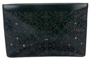 Alaia Studded Arabesque Clutch