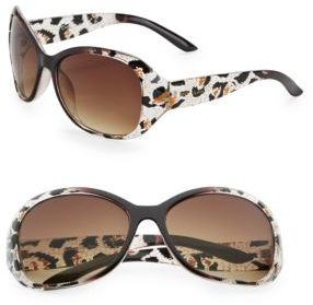 Sam Edelman 57mm Oval Sunglasses