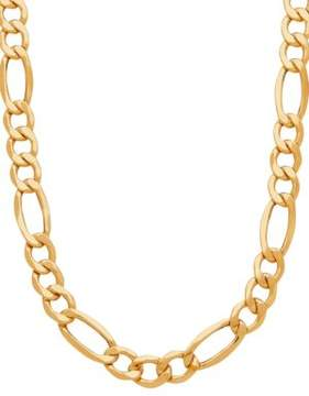 Lord & Taylor 14k Yellow Gold Chain-Link Neckalce