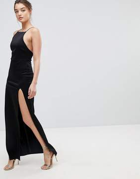 Asos Double Split Maxi Dress