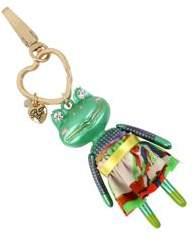 Betsey Johnson Frog Key Fob