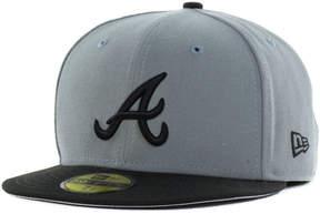 New Era Atlanta Braves Fc Gray Black 59FIFTY Cap