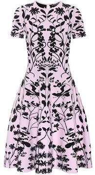 Alexander McQueen Jacquard-knit dress