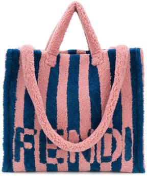 Fendi shearling shopping bag
