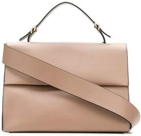 Calvin Klein foldover tote bag