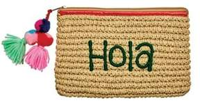 San Diego Hat Company Women's Paper Clutch With Embroidery Bsb1721.
