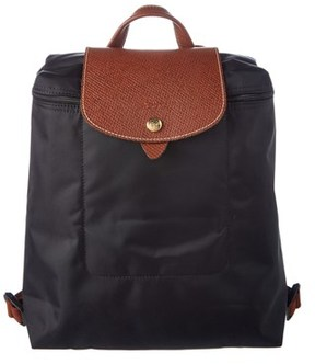 Longchamp Le Pliage Nylon Backpack. - BLACK - STYLE