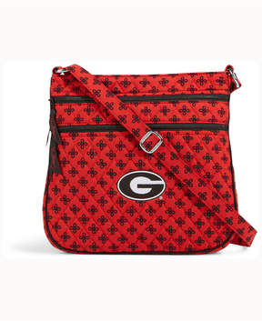 Vera Bradley Georgia Bulldogs Triple Zip Hipster - RED - STYLE