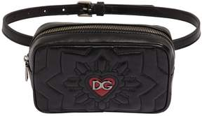 Dolce & Gabbana Quilted Leather Belt Pack