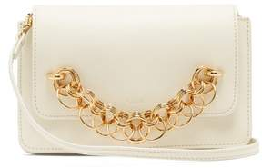 Chloé Drew Bijou Leather Clutch Bag - Womens - White