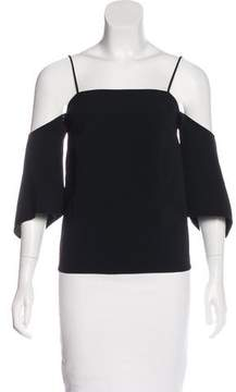 Creatures of the Wind Cold-Shoulder Square-Neck Top