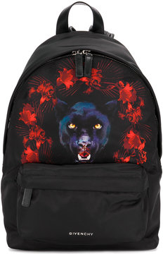 Givenchy panther print backpack