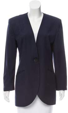 Christian Dior Structured Knit Blazer