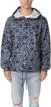 Herschel Keith Haring Forecast Hooded Coach Jacket