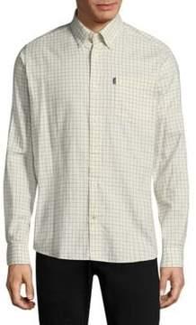 Barbour Check Cotton Casual Button-Down Shirt