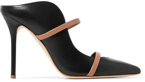Malone Souliers Maureen Leather Mules - Black
