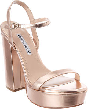 Charles David Regal Leather Sandal