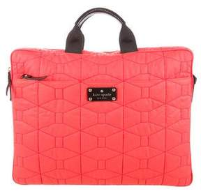 Kate Spade Quilted Satchel - RED - STYLE