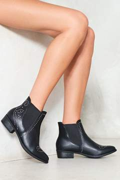 Nasty Gal nastygal Stand the Test of Time Vegan Leather Chelsea Boot