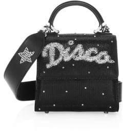 Les Petits Joueurs Disco Suede Mini Bag
