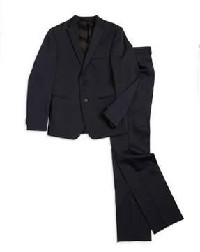 Michael Kors Boys Skinny-Fit Suit Jacket and Pleated Dress Pants