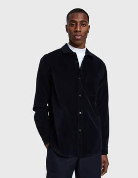 A.P.C. John Overshirt in Black