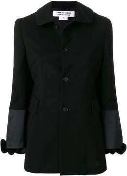 Comme des Garcons single breasted jacket